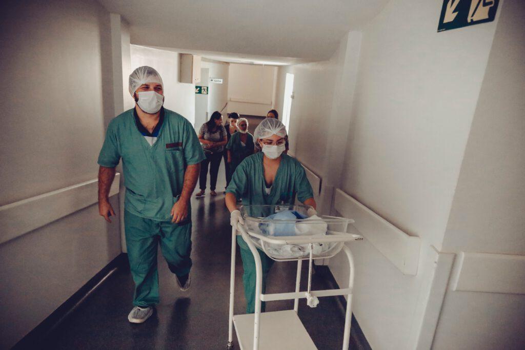 Bewegwijzering ziekenhuis